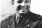 One of the last photos of Yury Gagarin made not long before his death in an aviation accident