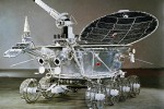 Lunokhod-1, first self-propelled automatic lunar rover. 1971