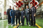 Prime and backup crews of the 24th expedition to International Space Station
