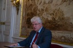 Ambassador Vladimir Chizhov meets with the MGIMO ESI students