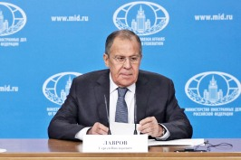 Foreign Minister Sergey Lavrov's annual press conference